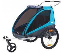 Polkupyörävaunu Thule Coaster Xt 2 Lapset Blue