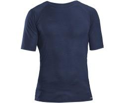 Underställ GripGrab Merino Polyfibre Short Sleeve mörkblå