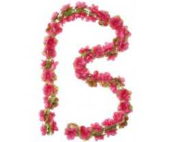 Seppele Basil Flower Garland 130 cm punainen/ruusut