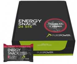 Energiapatukka Purepower Energy Snack 60 g Karpalo