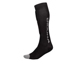 Säärisuoja Endura Singletrack Shin Guard Sock Musta