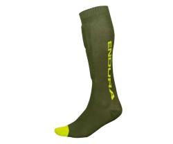 Säärisuoja Endura Singletrack Shin Guard Sock Vihreä